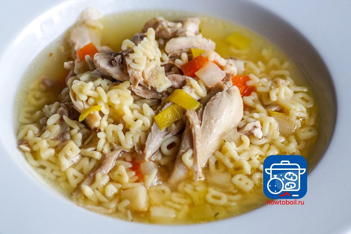 курица в супе